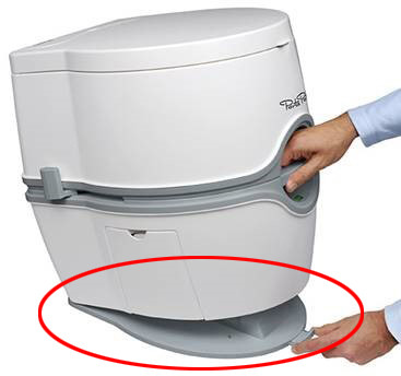 Hold Down Kit - Gulvfeste Porta Potti 565