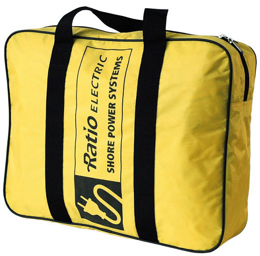 Bag for landstrømkabel, Ratio